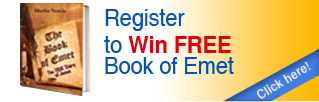 Register to Win Book of Emet