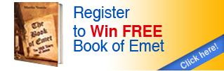Register to Win Book of Emet
